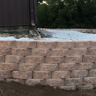 Retaining Wall on Shelvin Rock Drive!